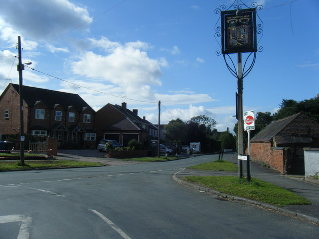 Uttoxeter Road/School Lane junction