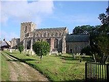 TM1763 : Debenham  St Mary's church by Adrian S Pye