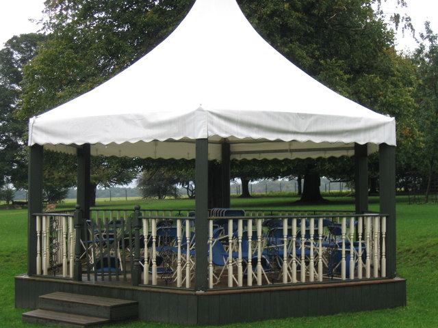 Bandstand, Whitworth Hall Country Park