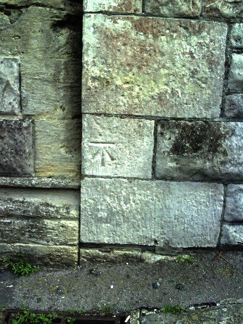 Benchmark on Holy Trinity Church