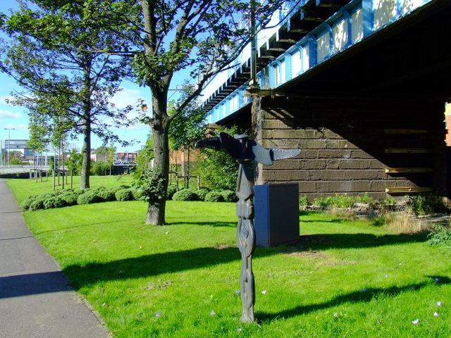 Railway bridge over the Kelvin