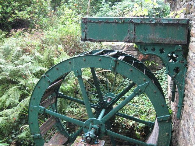 Waterwheel (disused) rear of Whitworth Hall Hotel