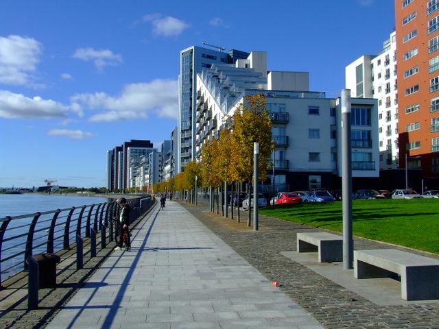 Autumn at Glasgow Harbour