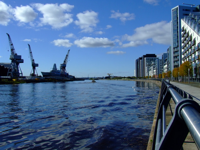 Glasgow Harbour and the Upper Clyde