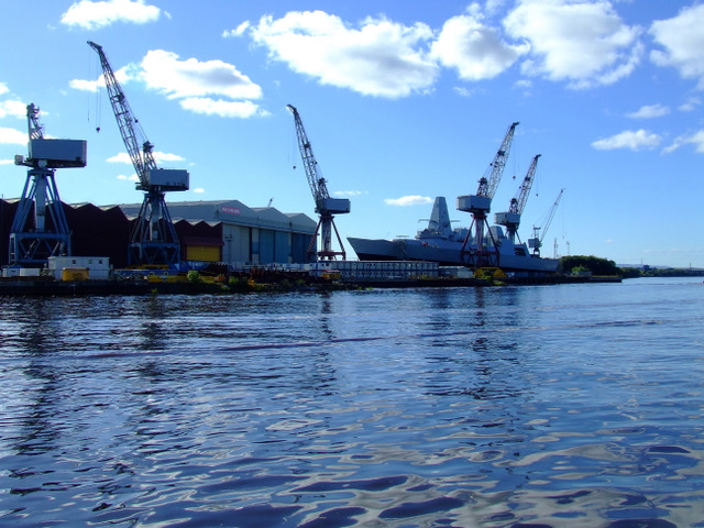BAE Govan Shipyard