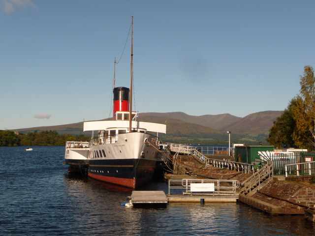 Balloch: the Maid of the Loch