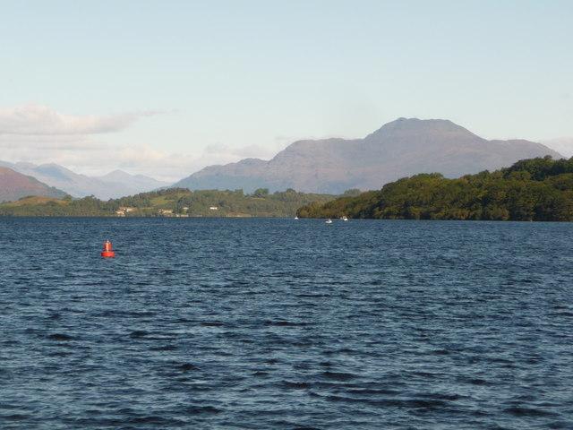 Balloch: view up Loch Lomond