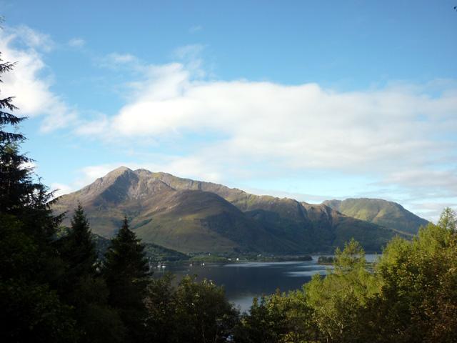 Over Loch Leven to Beinn a' Bheithir