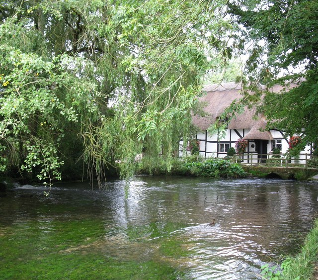 The River Alre by the old Fulling Mill