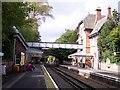 SJ3985 : Cressington railway station by Raymond Knapman