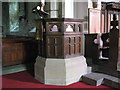 NY9166 : St. Michael's Church, Warden - pulpit by Mike Quinn