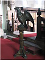 NY9166 : St. Michael's Church, Warden - lectern by Mike Quinn