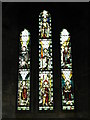 NY9166 : St. Michael's Church, Warden - stained glass window, north transept by Mike Quinn