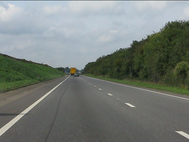 A417 near Itlay