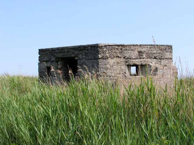 Pillbox beside the New Cut