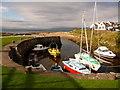 NR8928 : Blackwaterfoot: the harbour by Chris Downer