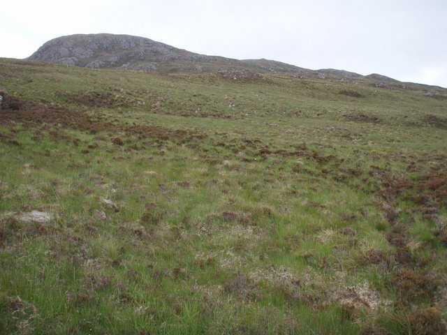 Crags on Meall Meadhonach