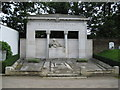 TQ2282 : Kensal Green: St Mary's Roman Catholic Cemetery: The Belgian War Memorial by Nigel Cox