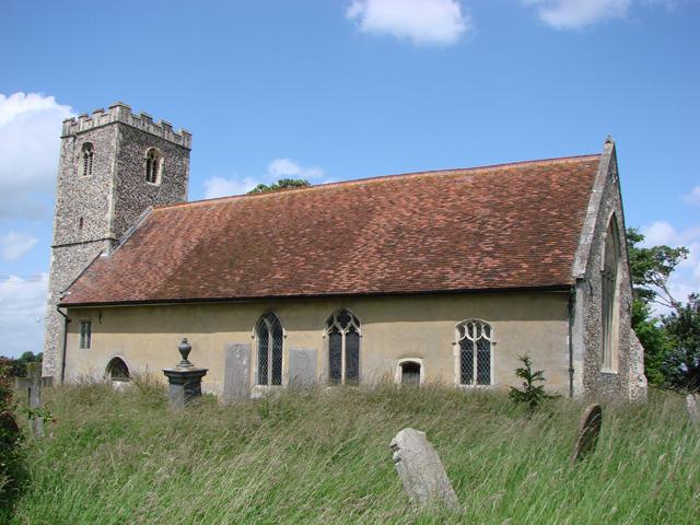 Hemingstone St Gregory's church