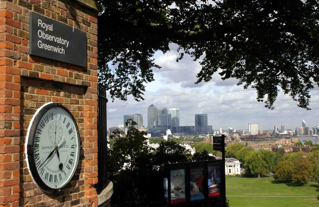 Royal Observatory Clock - Greenwich