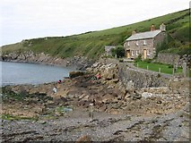 SW9780 : Quay Cottage,  Port Quin,  North  Cornwall by Derek Voller