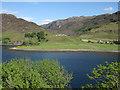 NG8927 : Alluvial fan, Loch Long by Hugh Venables