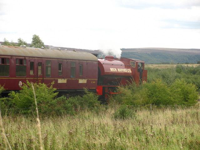 Train in Whistle Inn Station