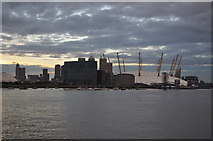 TQ3979 : O2 Arena and Office Blocks by Ashley Dace