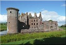 NY0265 : Caerlaverock Castle by Humphrey Bolton