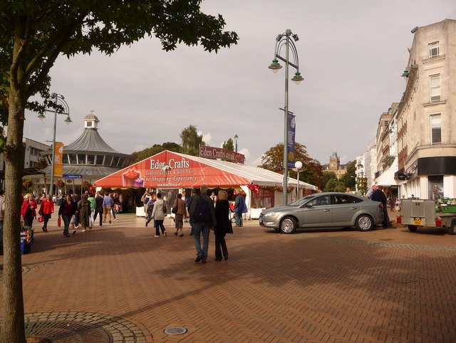 Bournemouth: craft fair marquee