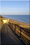 TG2142 : West Cliff, Cromer, Norfolk by Christine Matthews