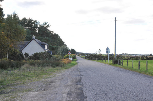 Road from Garmouth to Lhanbryde
