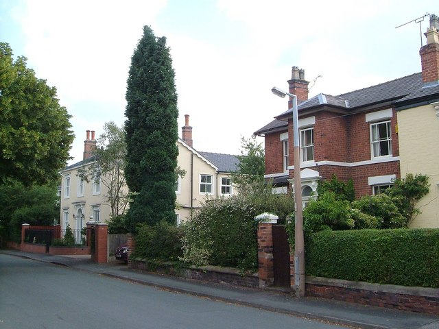 Houses on Fields Road, Alsager