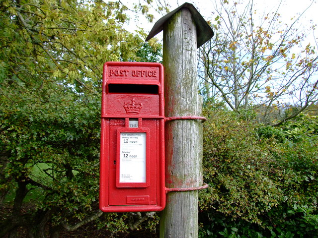 Postbox near Inverugie Station