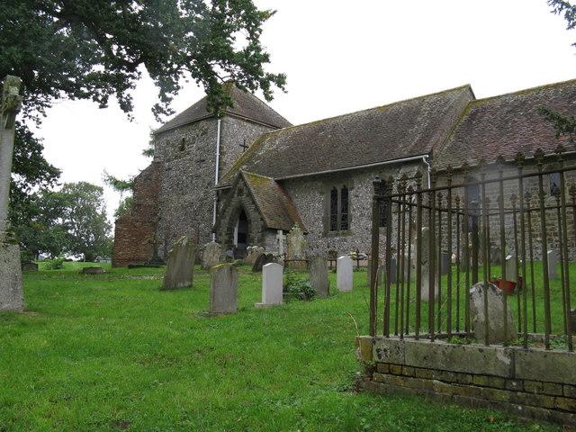 St Mary's Church and churchyard Bepton