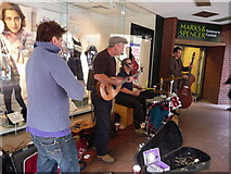 SX9292 : Exeter : High Street Performers by Lewis Clarke