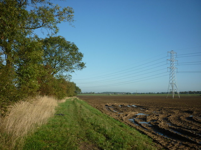 A footpath to Thirleby Lane