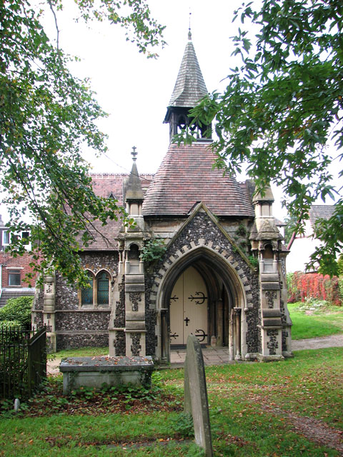Rosary cemetery, Norwich - the chapel