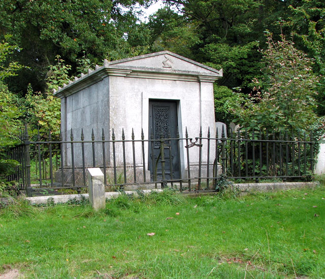 Rosary cemetery, Norwich - the Cooper mausoleum