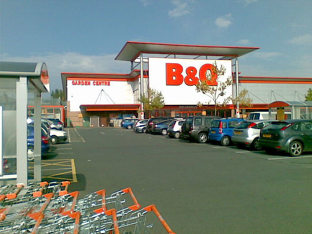 Stockport's B&Q superstore