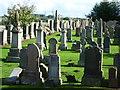 NS8462 : Kirk o' Shotts gravestones by kim traynor