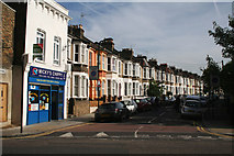 TQ3385 : Stoke Newington:  Pellerin Road by Dr Neil Clifton