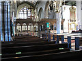 SX8751 : St Saviour's church, Dartmouth: nave by Stephen Craven