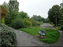SO9596 : Walkways at Railway Drive, Bilston, Wolverhampton by Roger  Kidd