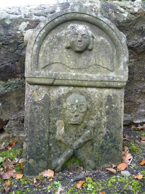 18thC tombstone, Ecclesmachan