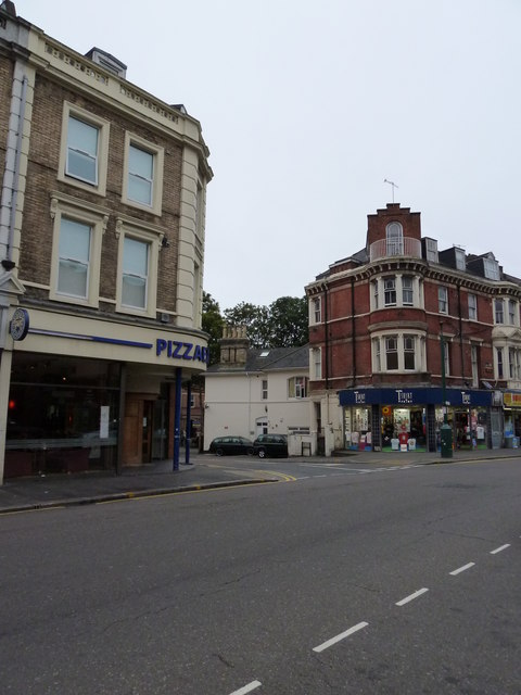 Pizza Express In Old Christchurch Road Basher Eyre Cc By