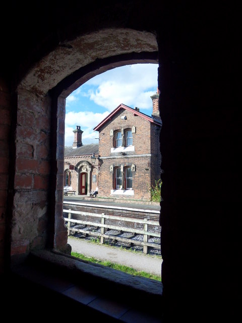 Through The Arch Window
