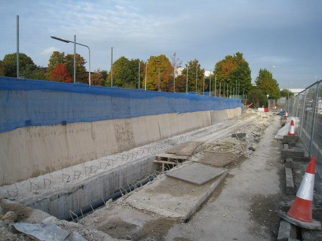 Bridge repairs - Brunel Road
