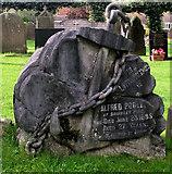 SJ8959 : An unusual gravestone by Jonathan Kington