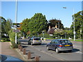 SP1397 : Crossroads, Tamworth Road / Whitehouse Common Road by Michael Westley